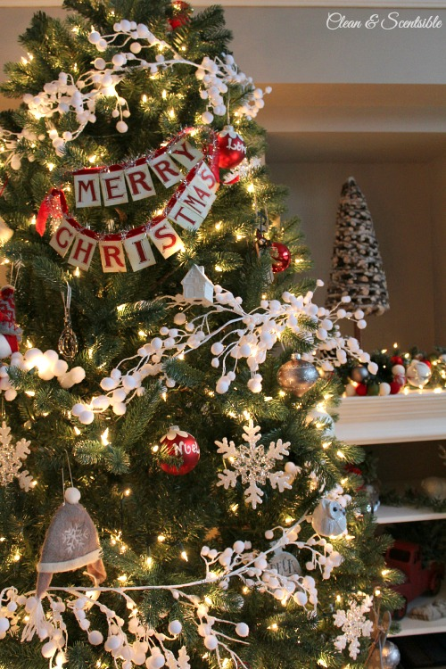 Decorating Ideas > Christmas Home Tour  Clean And Scentsible ~ 165708_Christmas Decorations Home Tour