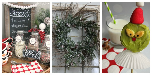 Christmas Projects from Clean and Scentsible.