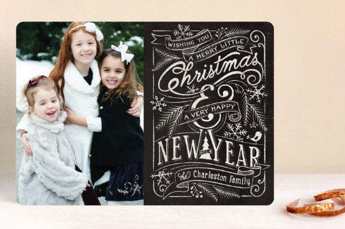 Get your Christmas cards done early!  Free printable Christmas card planner worksheet.