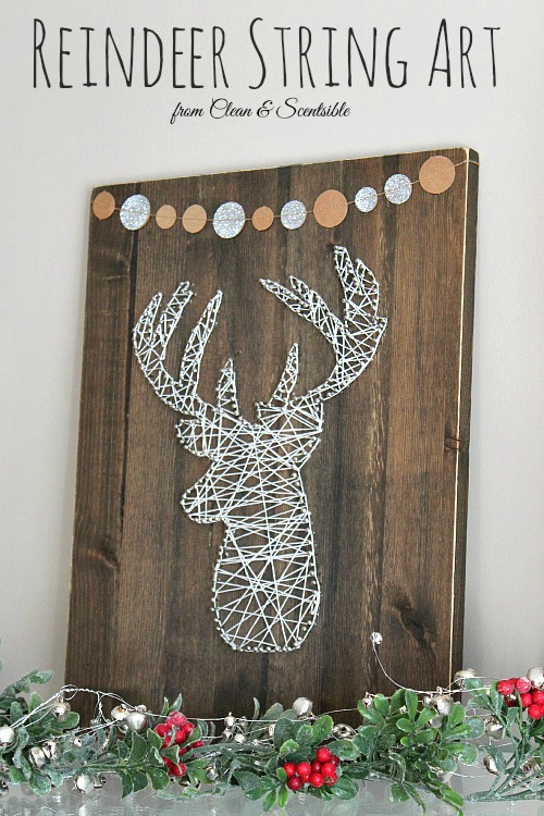 Deer Head String Art Clean And Scentsible