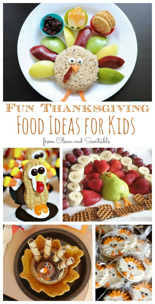 Love all of these fun Thanksgiving treat ideas for kids! // cleanandscentsible.com