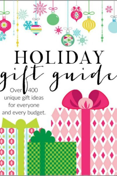 The ultimate holiday gift guide for everyone in your life! Tons of great gift ideas!
