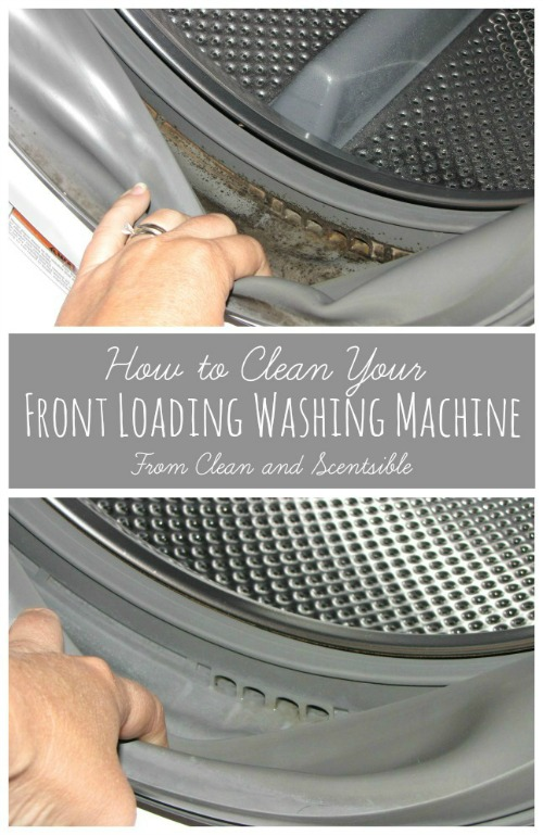 Great tutorial on how to clean your washing machine!  A must read! // cleanandscentsible.com