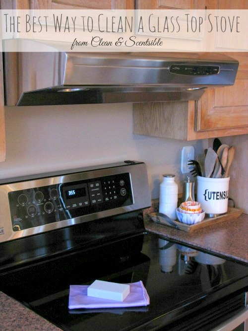 how to clean burnt gas stove top