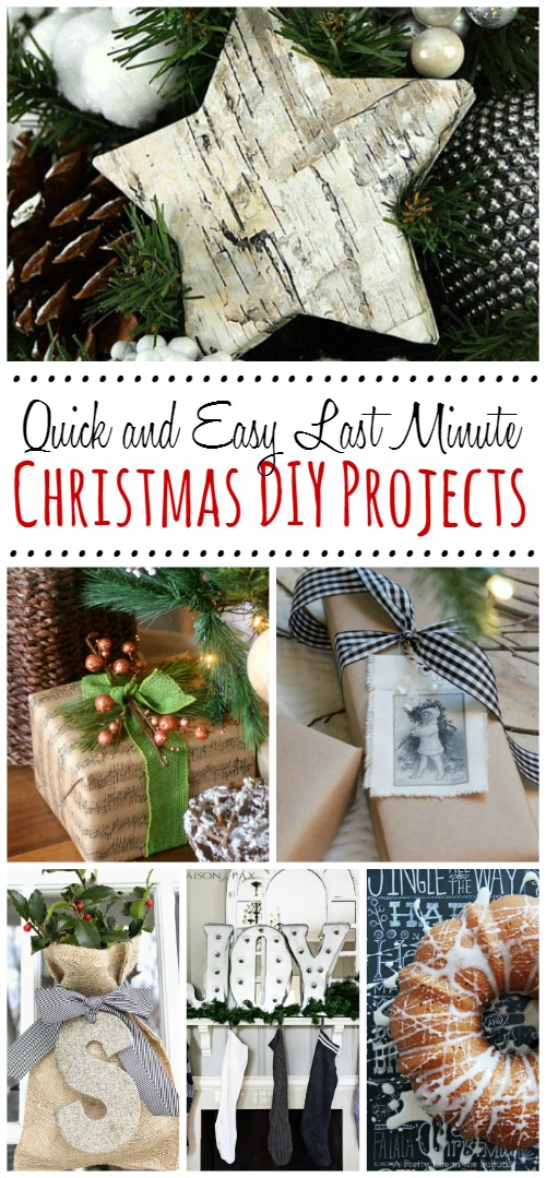 great ideas for quick and easy christmas diy projects perfect for everyone trying to get