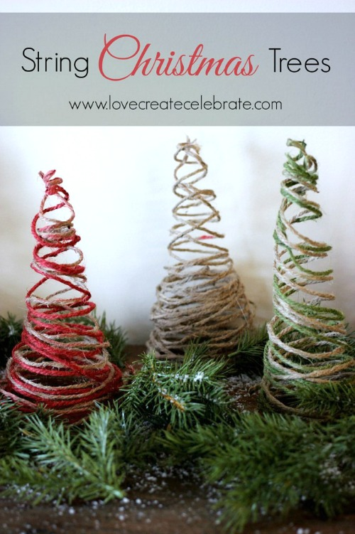 Simple string Christmas tree tutorial.