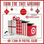 $200 Target Giftcard OR PayPal cash giveaway!!!