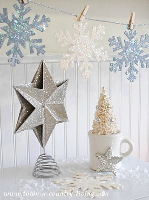 Glitter Snowflakes Clean And Scentsible