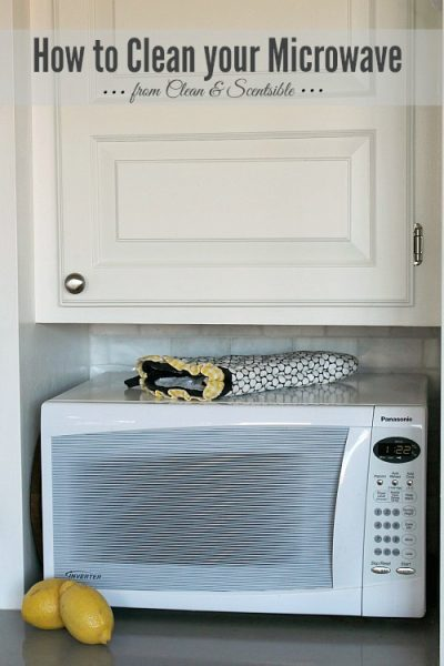 How to Clean your Microwave & Garbage Disposal