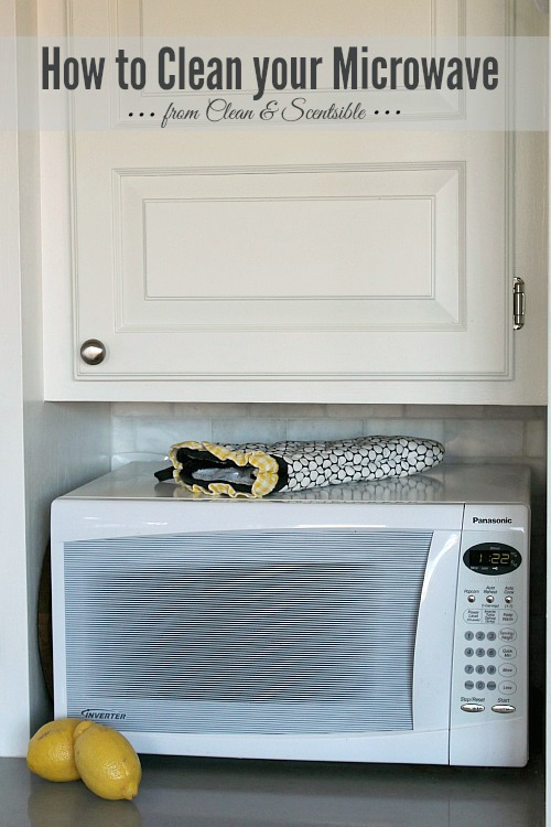How to clean your microwave {and garbage disposal too!}