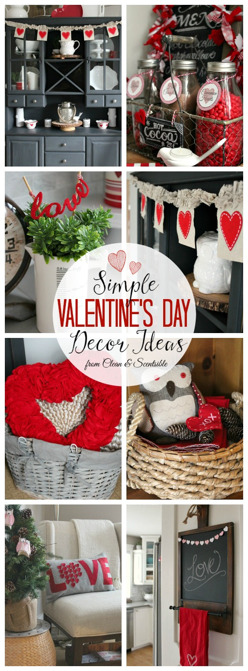 Valentine S Day Decor Ideas Clean And Scentsible