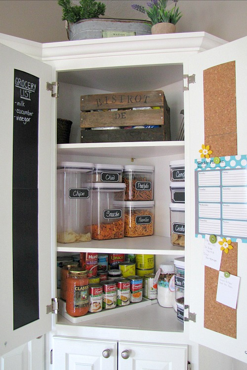 How To Organize Your Pantry Clean And Scentsible