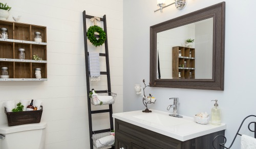 Fresh Beautiful bathroom makeover cleanandscentsible