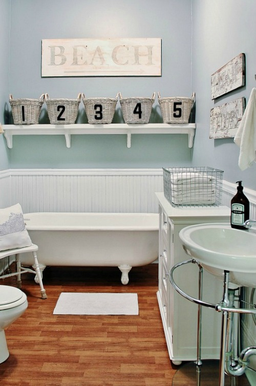 Spectacular Beautiful and functional bathroom storage ideas Love these cleanandscentsible