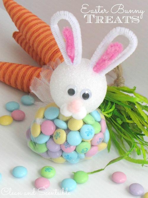 Love these Easter bunny treats!! So cute!