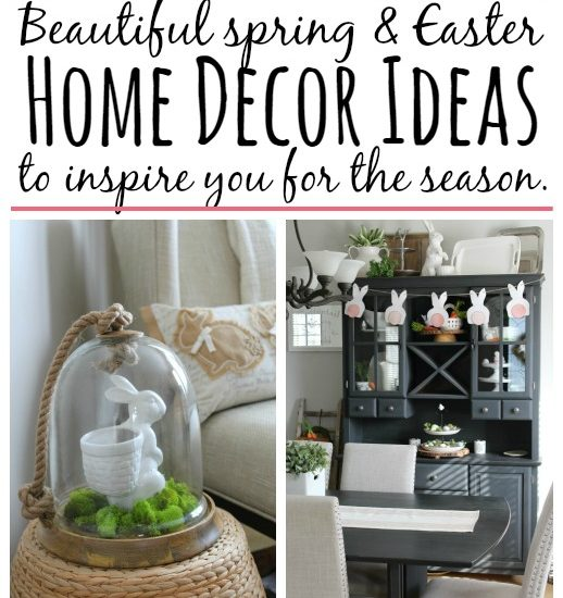 Easter and Spring Decor Ideas - Clean and Scentsible