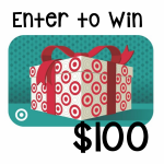 Enter to Win a $100 Target giftcard!