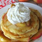 Grilled apple pie pancakes and lots of other yummy breakfast ideas. Perfect for Mother's Day!