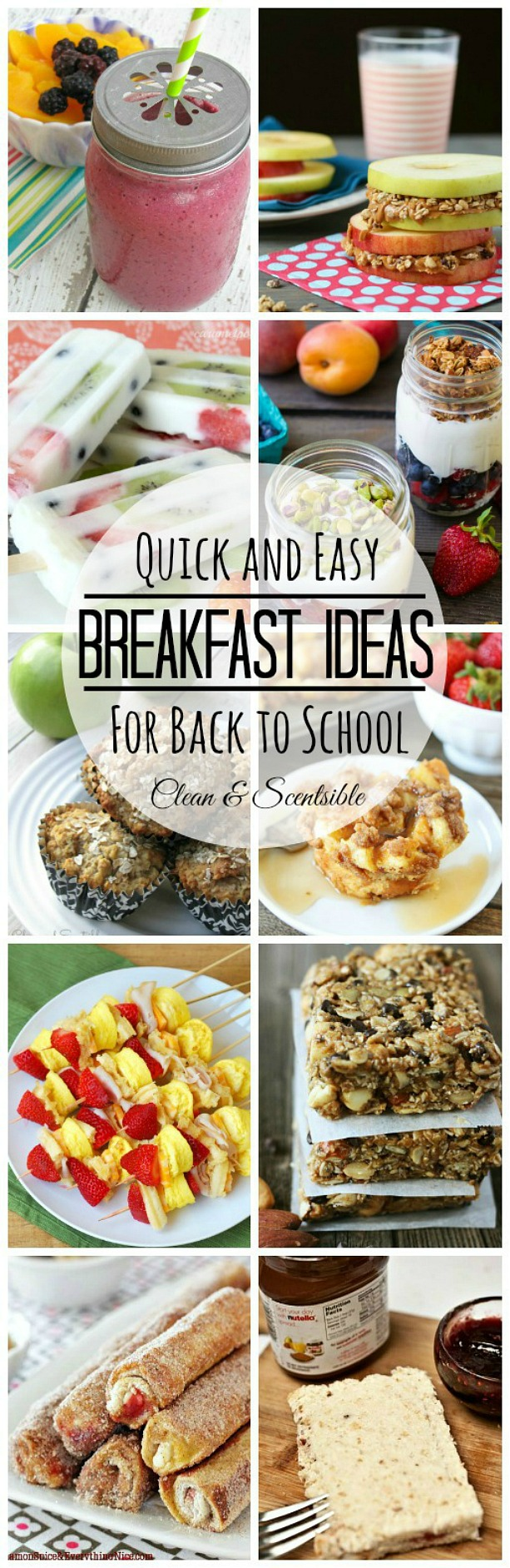 Quick and easy breakfast ideas - so much better than cereal!
