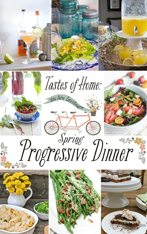 Spring recipes - from drinks to desserts!