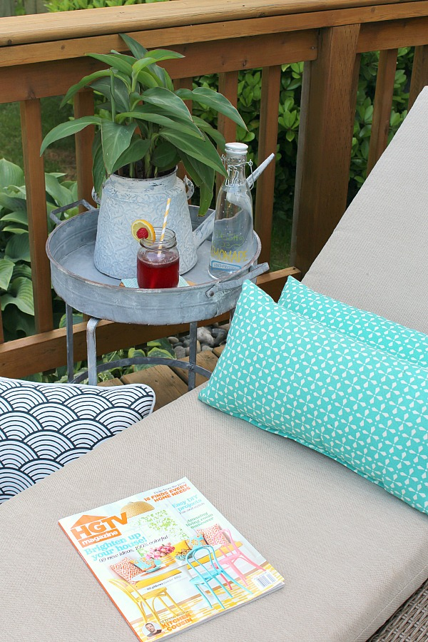 Great Tutorial On How To Clean Patio Cushions And Other Outdoor Furniture.