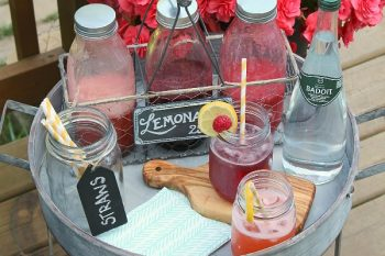 Flavored Lemonade Bar