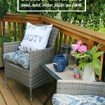 Protect your investment and learn how to care for your outdoor furniture. Great tips on how to clean outdoor furniture - everything from metal and wood furniture to patio cushions.