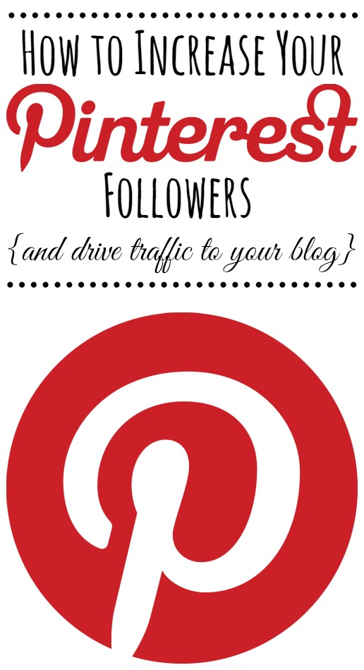 Great tips and tricks to increase your Pinterest followers and drive traffic to your blog.  A must read for bloggers!