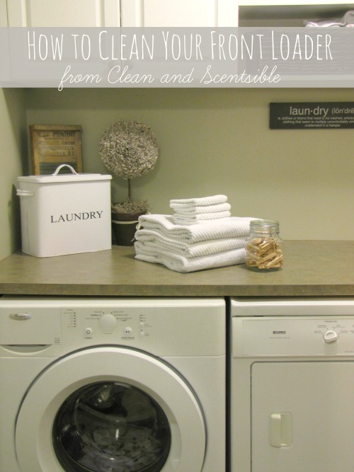 Great post on how to clean your washing machine. -a must read!