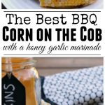 Delicious garlic butter BBQ corn on the cob. A must have for summer BBQs!