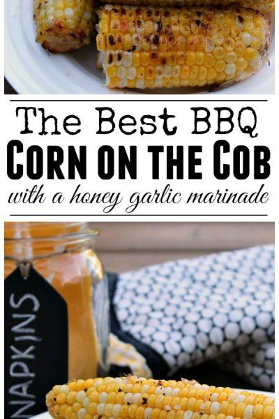 Garlic Butter BBQ Corn on the Cob