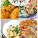 Great collection of quick, easy, and delicious chicken dinner recipes. Never serve boring chicken again! Perfect for those busy weekday dinners.