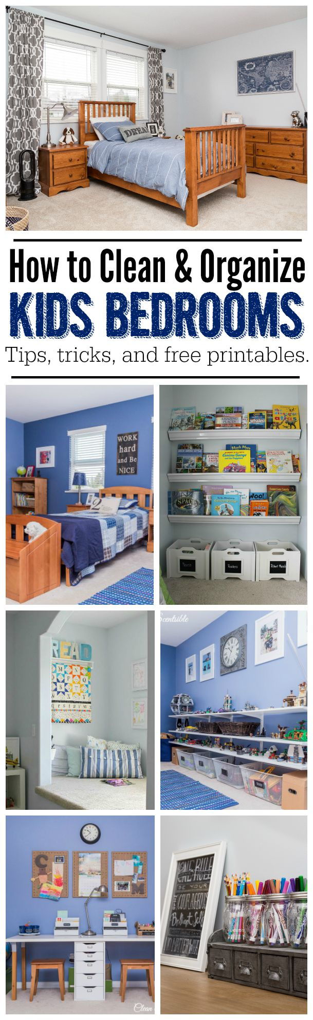 Kids Bedroom Organization how to organize kids bedrooms - clean and scentsible