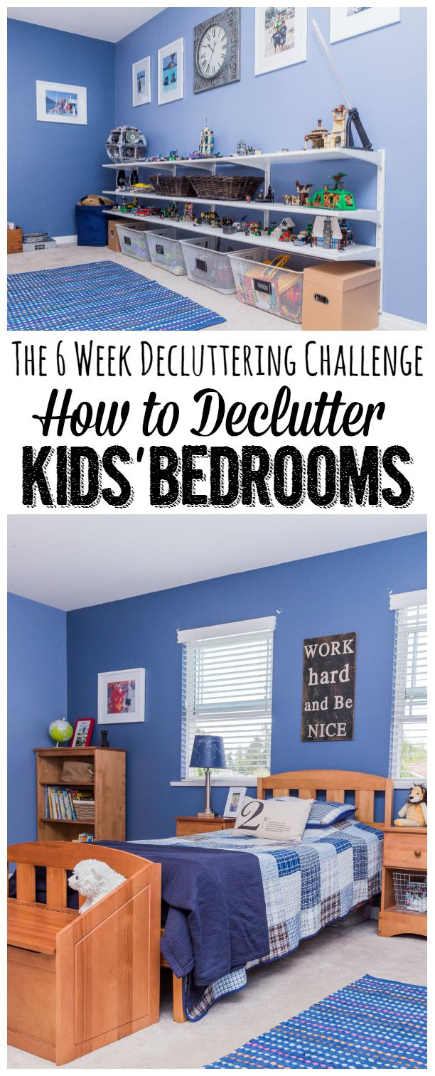 How To Declutter Kids Rooms Clean And Scentsible