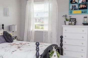 How to Declutter the Master Bedroom {The 6 Week Decluttering Challenge}