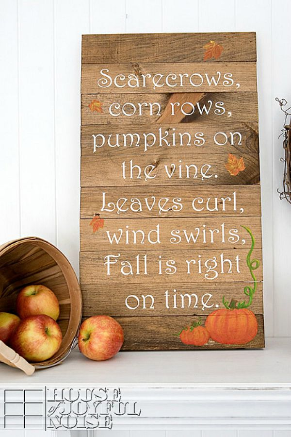 Favorite fall decor ideas clean and scentsible