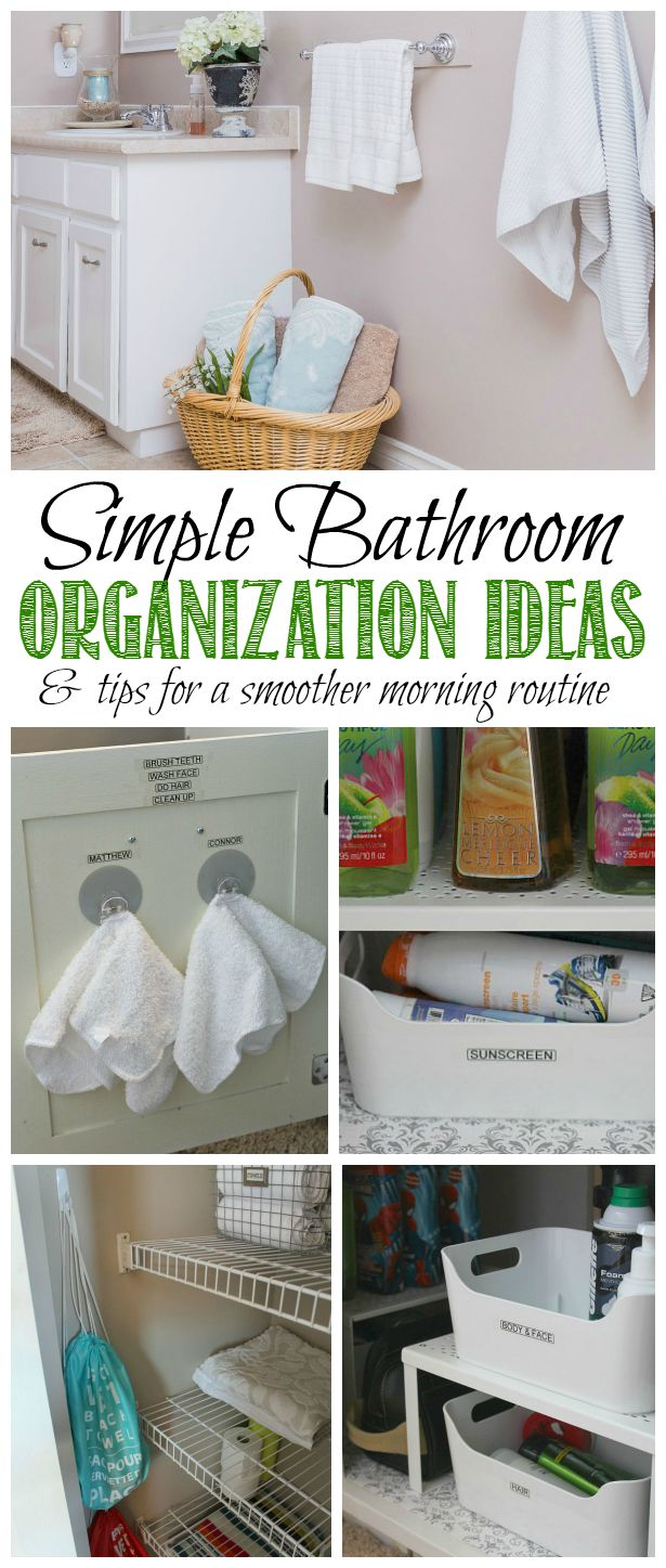 great bathroom organization ideas and tips for creating a smoother