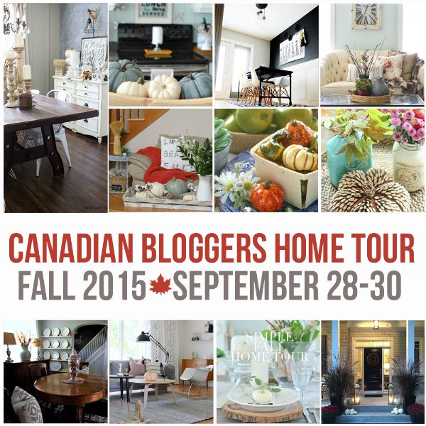 Beautiful fall home tours with lots of simple fall decor ideas!