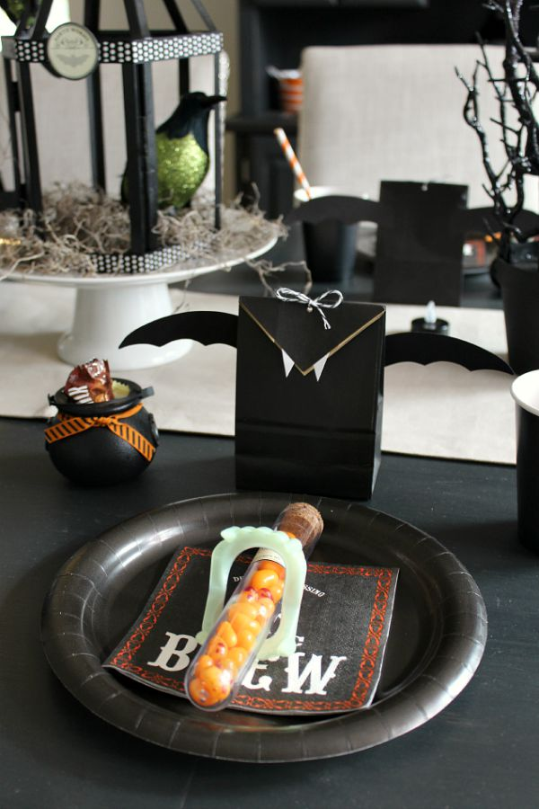 Halloween Bat Treat Bags 7