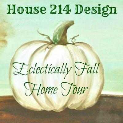 Beautiful fall home tours.