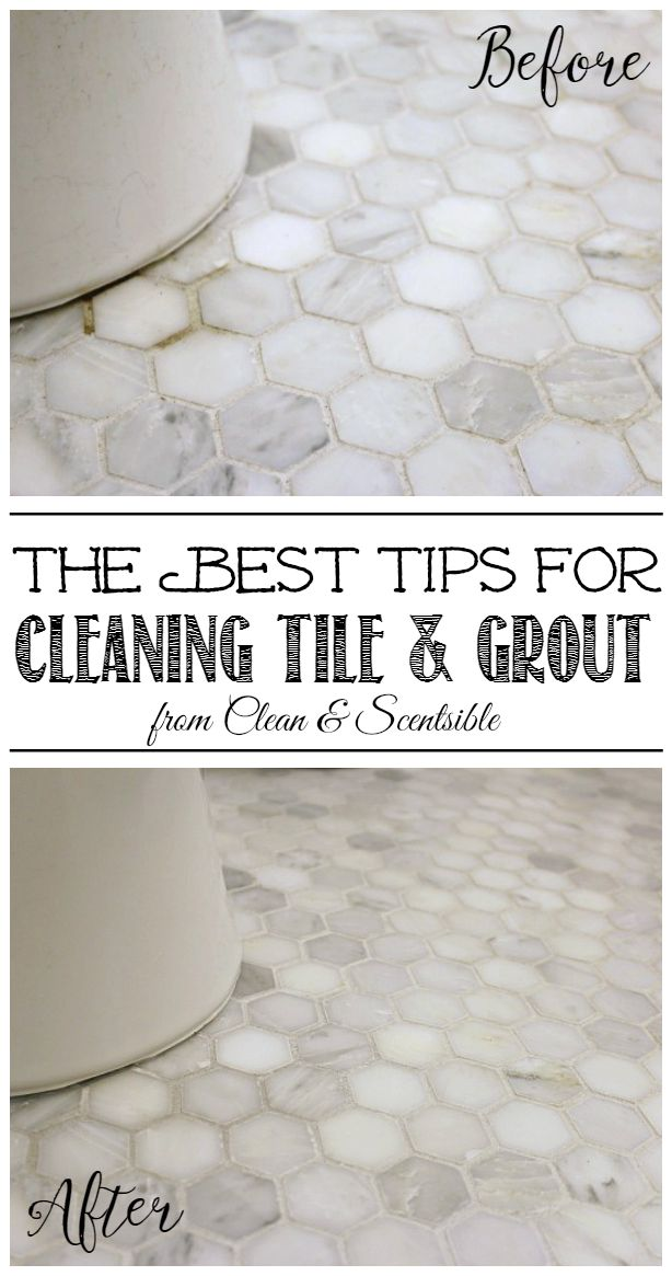 How To Clean Grout Clean And Scentsible - How do i clean the grout on my tile floor