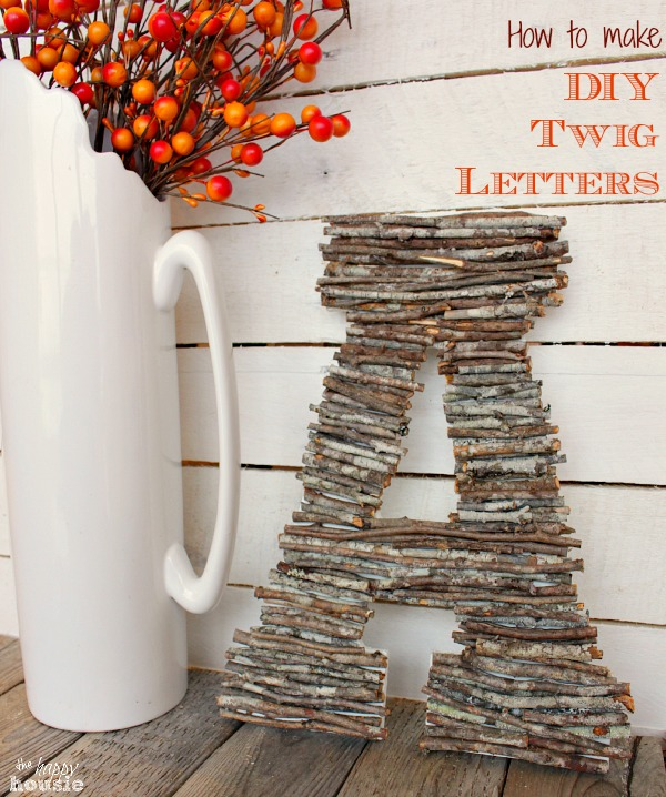 Beautiful fall projects and fall decor ideas.