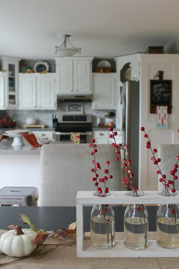 Adventures In Decorating Our 2015 Fall Kitchen: Canadian Fall Home Tour