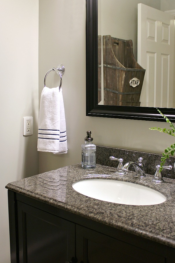 Inexpensive Bathroom Makeover Ideas.
