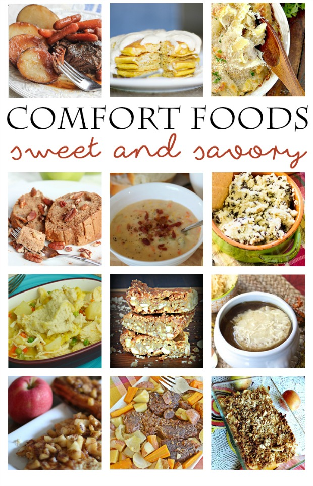 Delicious collection of comfort food - perfect for fall and winter.