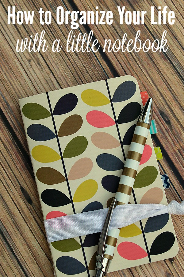 How To Organize Your Life With A Notebook Clean And