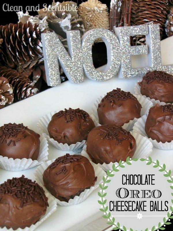 Chocolate Oreo Cheesecake Balls - must make!!