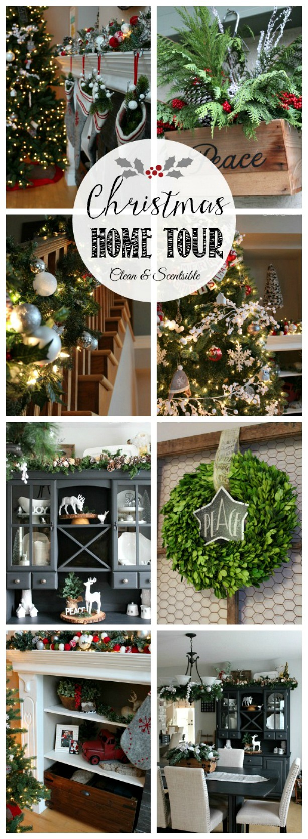 Beautiful Christmas home tour - a must see!