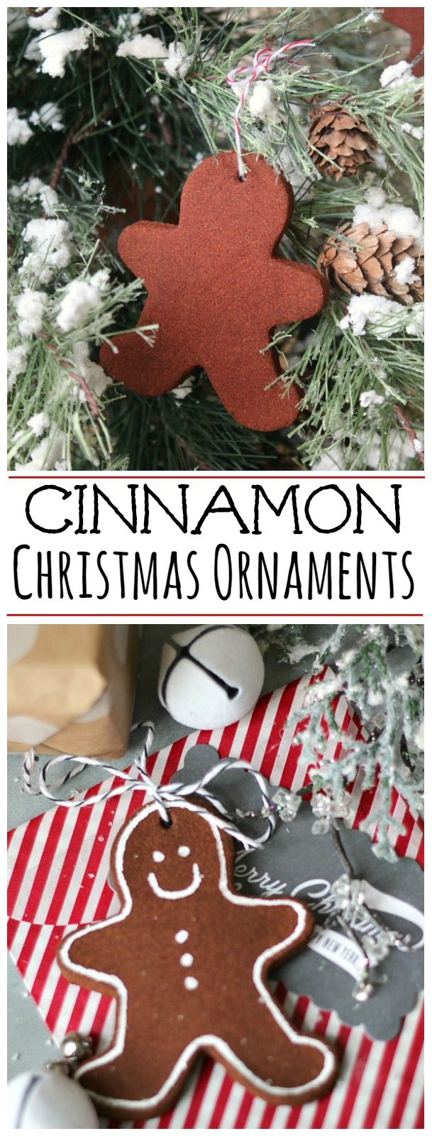 Cinnamon Christmas Ornaments Title