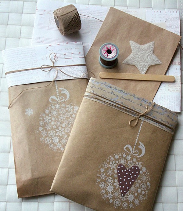 Simple And Beautiful Ways To Dress Up Your Christmas Gifts Love These Gift Wring Ideas